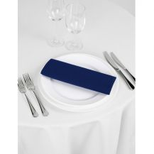 Signature Linen Napkin Navy 20in x 20in