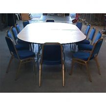 Table Oval 10ft x 5ft