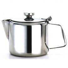 Tea Pot Stainless Steel 12oz (Single)