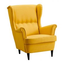 Wingback Armchair Yellow