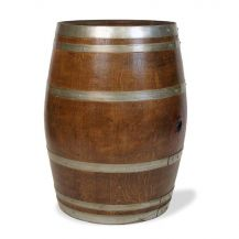 Wooden Barrel Table 1m