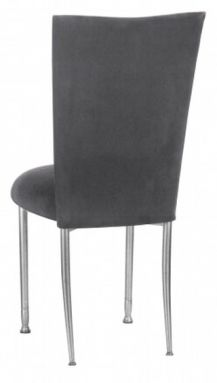 Chameleon Charcoal Suede Chair